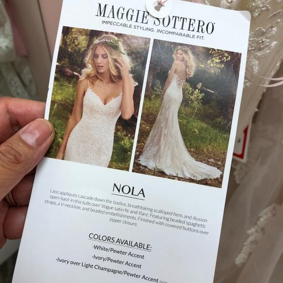 17382f7c895 Maggie Sottero Nola Wedding Dress
